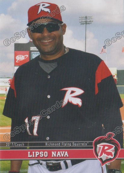 2017 Richmond Flying Squirrels Lipso Nava