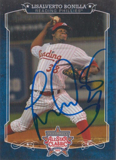 Lisalverto Bonilla 2012 Eastern League All Star (Autograph)
