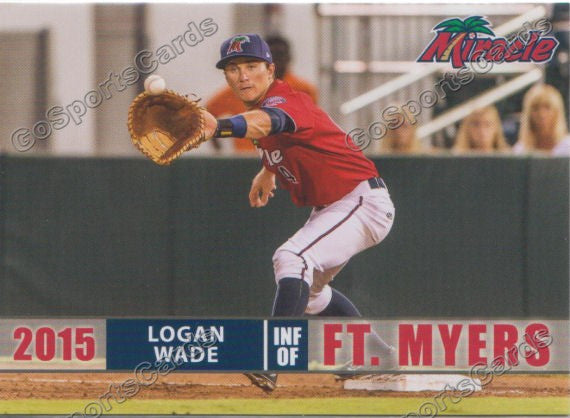 2015 Fort Myers Miracle Logan Wade