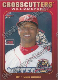 2011 Williamsport Crosscutters Luis Amaro