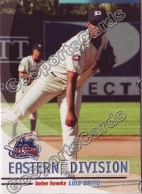 2004 GrandStand Northwest League All Star Luis Brito
