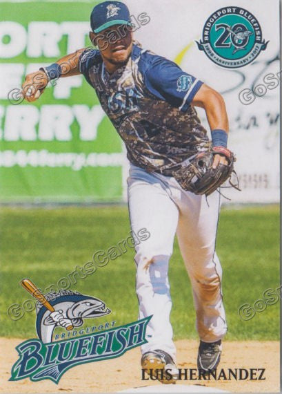 2017 Bridgeport Bluefish Luis Hernandez