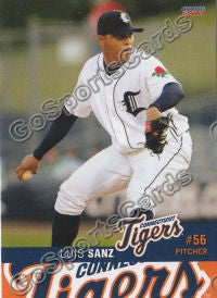 2011 Connecticut Tigers Luis Angel Sanz