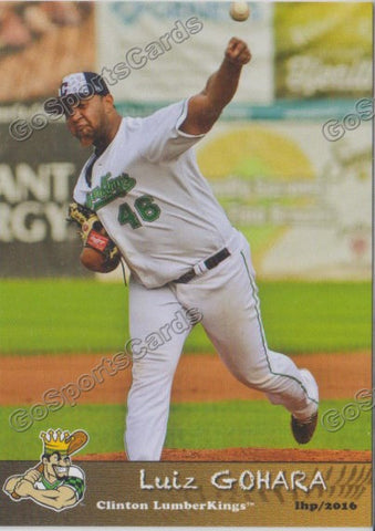 2016 Clinton LumberKings Update Luiz Gohara