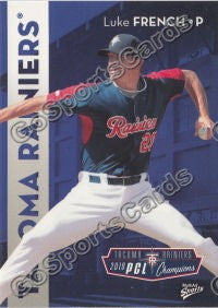 2011 Tacoma Rainiers Luke French