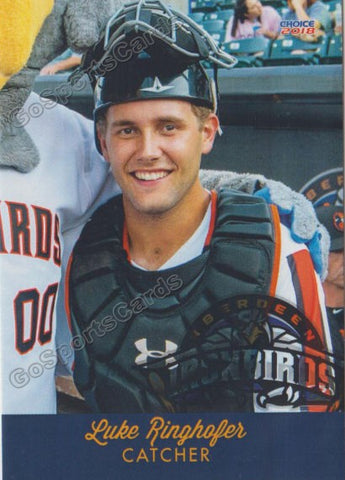 2018 Aberdeen Ironbirds Luke Ringhofer