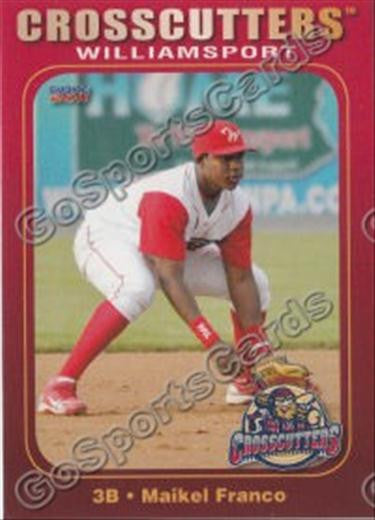 2011 Williamsport Crosscutters Team Set