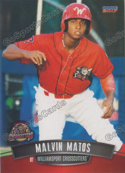 2017 Williamsport Crosscutters Malvin Matos
