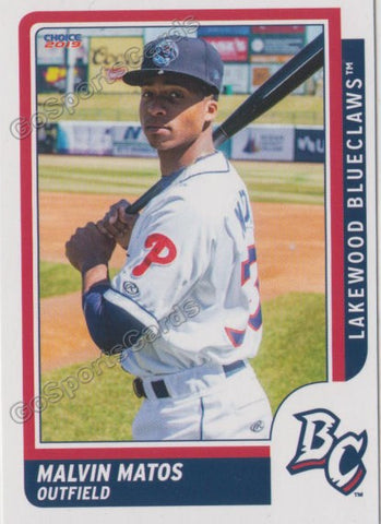 2019 Lakewood BlueClaws Malvin Matos