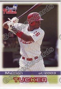 2003 Clearwater Phillies Mamon Tucker