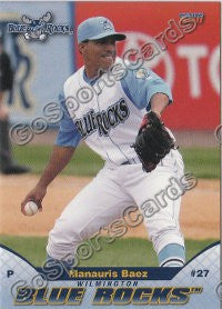 2011 Wilmington Blue Rocks Manauris Baez