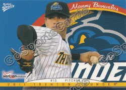 2011 Trenton Thunder Team Set