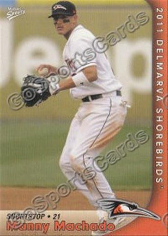 2011 Delmarva Shorebirds Team Set