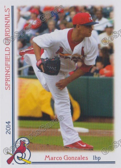 2014 Springfield Cardinals Team Set