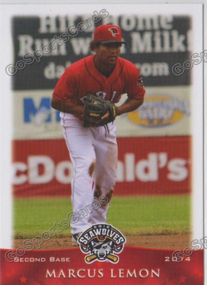 2014 Erie Seawolves Marcus Lemon