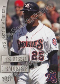 2011 Tennessee Smokies Mariano Duncan