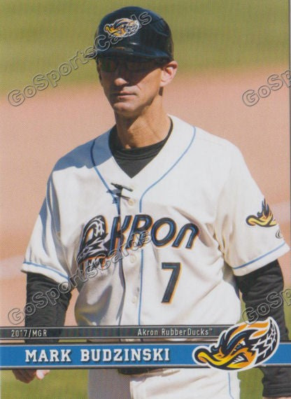 2017 Akron RubberDucks Mark Budzinski