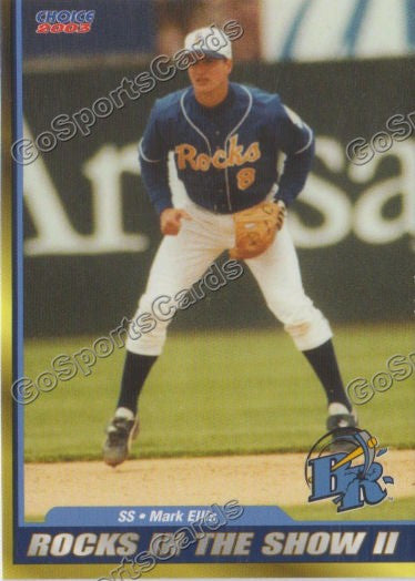 2003 Wilmington Blue Rocks Mark Ellis