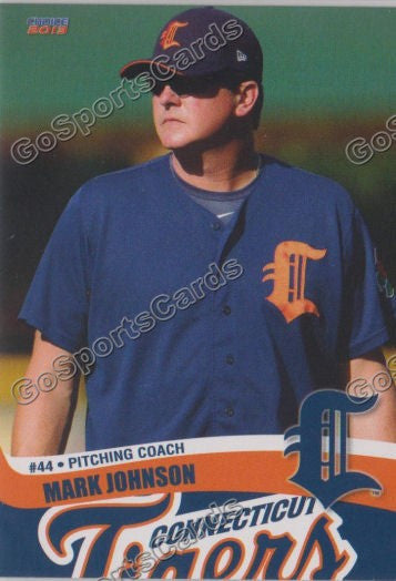 2013 Connecticut Tigers Mark Johnson