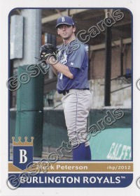 2012 Burlington Royals Mark Peterson