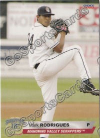 2008 Mahoning Valley Scrappers Mark Rodrigues