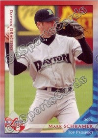 2003 Midwest League Top Prospects Mark Schramek