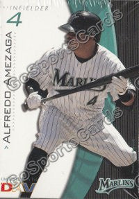 2009 Florida Marlins DAV Team Set