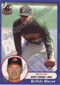 2005 International League All-Stars Choice Marty Brown MGR