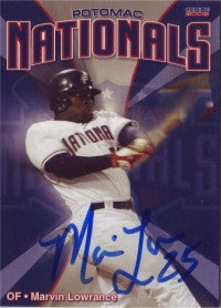 Marvin Lowrance 2008 Choice Potomac Nationals (Autograph)