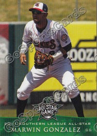 2011 Southern League All Star North Division Marwin Gonzalez
