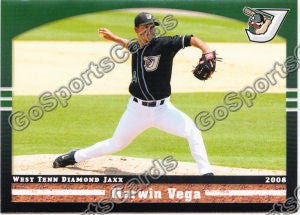 2008 West Tenn Diamond Jaxx Marwin Vega