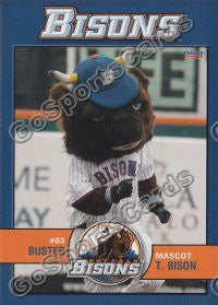 2011 Buffalo Bisons Buster T Bison Mascot