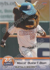 2012 Buffalo Bisons Buster T Bison Mascot