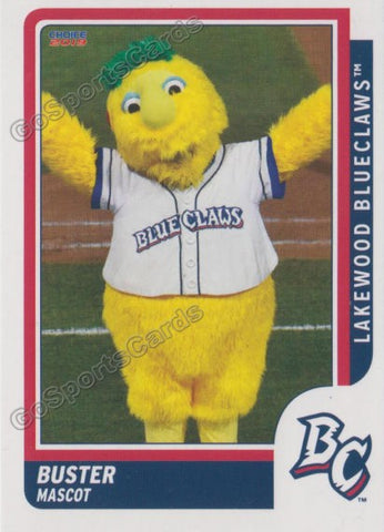 2019 Lakewood BlueClaws Buster Mascot