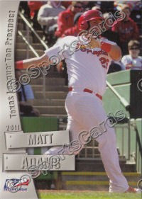 2011 Texas League Top Prospects Matt Adams