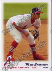 2010 Springfield Cardinals Team Set