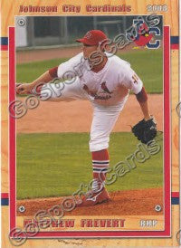 2008 Johnson City Cardinals Matthew Frevert