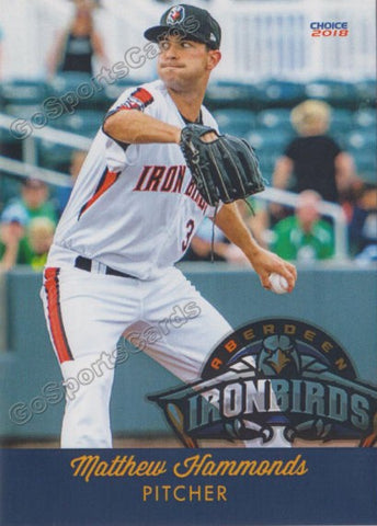 2018 Aberdeen Ironbirds Matthew Hammonds