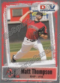 2011 Hickory Crawdads DAV Matt Thompson
