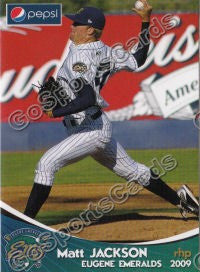 2009 Eugene Emeralds Matt Jackson