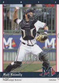 2011 Mississippi Braves Matt Kennelly
