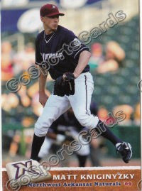 2009 Northwest Arkansas Naturals Matt Kniginyzky