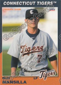 2010 Connecticut Tigers Matt Mansilla