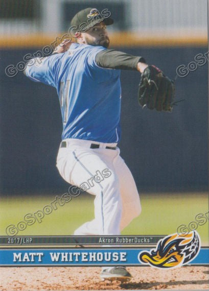 2017 Akron RubberDucks Matt Whitehouse
