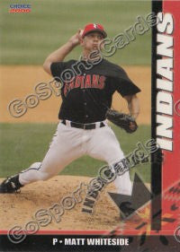 2006 Indianapolis Indians Matt Whiteside