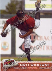 2009 Great Falls Voyagers Matt Wickswat