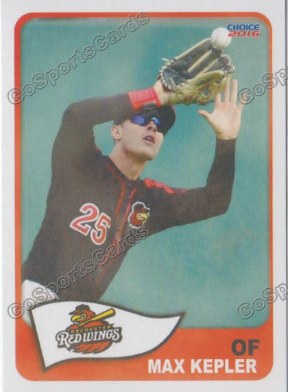 2016 Rochester Red Wings Max Kepler