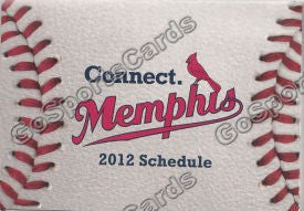 2012 Memphis RedBirds Pocket Schedule