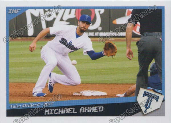 2017 Tulsa Drillers Michael Ahmed