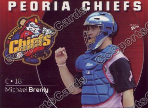 2009 Peoria Chiefs Michael Brenly